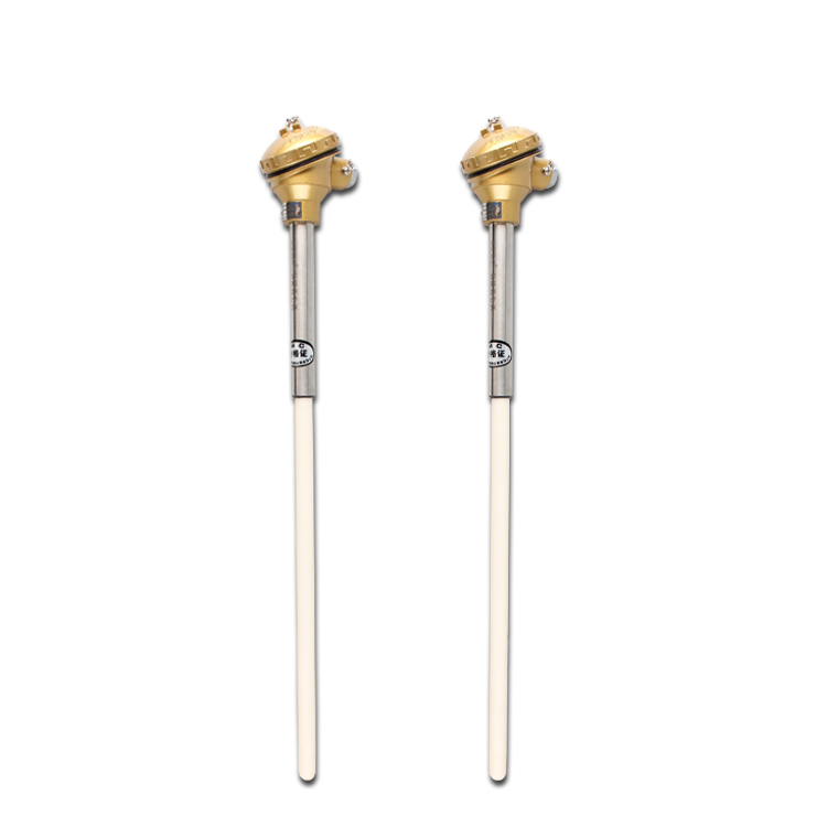 S Type Pt-Rh Platinum Rhodium Thermocouple with Ceramic Probe