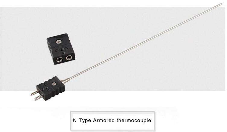 Mineral insulated Thermocouple type N with connector